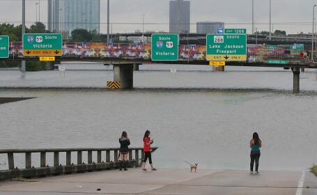 Catastrofă în Texas, după trecerea uraganului Harvey