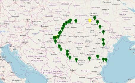 257.000 treceri de persoane și peste 60.600 treceri de mijloace de transport la frontiere, în ultimele 24 de ore