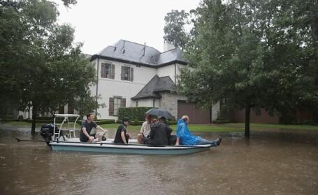 """Inundații """"catastrofale și fără precedent"""" în Texas, după uraganul Harvey"""
