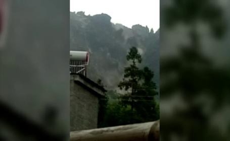 Doi morți și 25 de răniți, în urma unei alunecări masive de teren în China