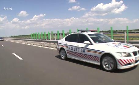 Surpriza de care au avut parte 4 polițiști din Bistrița după ce au oprit un șofer in trafic