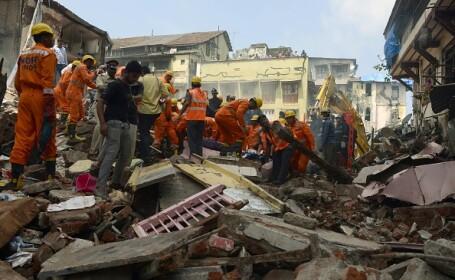 Clădire prăbușită în Mumbai: 3 morți