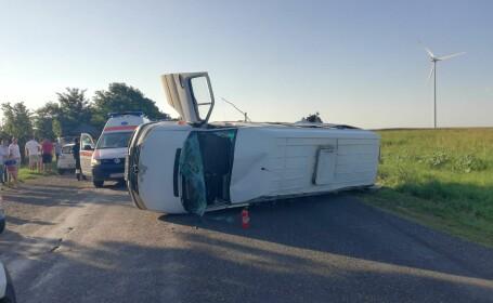 Şoferul tractorului care a provocat accidentul cu 12 răniţi din Buzău a fost prins