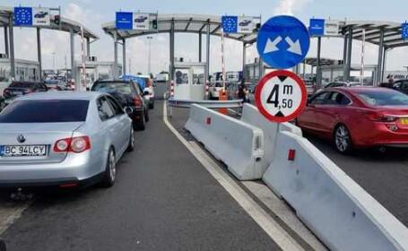 120.000 de persoane au tranzitat Vama Nădlac II în weekend. Cozile s-au întins pe 10 km