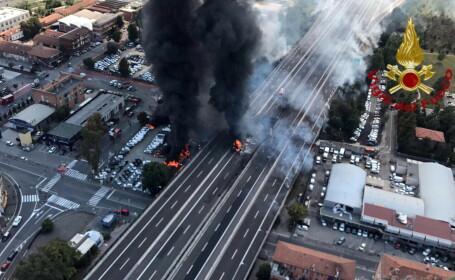 Explozia din Bologna