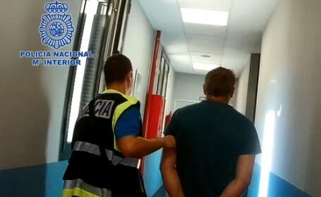Roman pedofil prins la Madrid