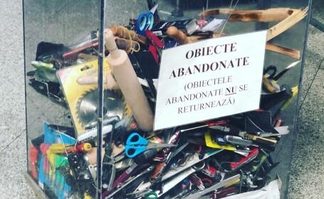 obiecte abandonate pe aeroportul din Cluj