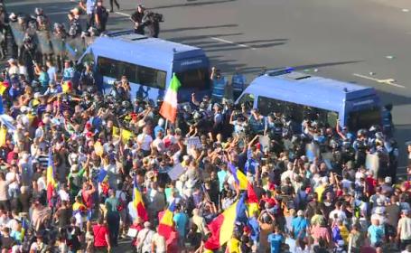 Proteste in Piata Victoriei