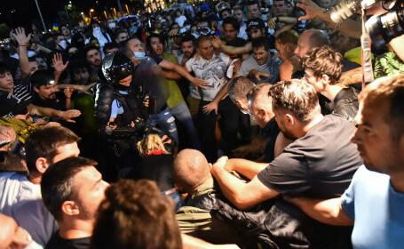 """Reacțiile liderilor politici, după violențele din Piața Victoriei. Stănescu: """"Putem face paralelă cu Colectiv"""""""
