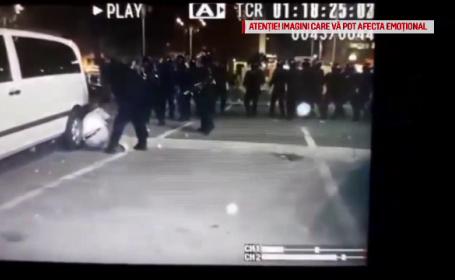 """Mărturia unui bărbat lovit de jandarmi, deși avea mâinile ridicate: """"Strigam nu daţi, nu loviţi!"""""""