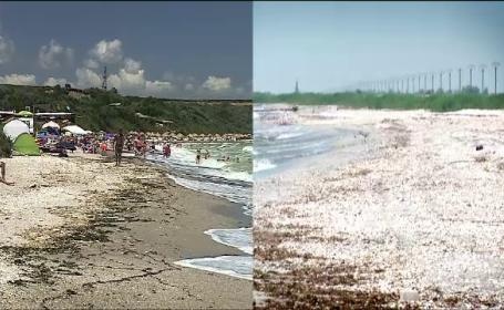 """Plaja pustie de la Tuzla, invadată de terase, șezlonguri și manele: """"Nu mai e cum o știam"""""""