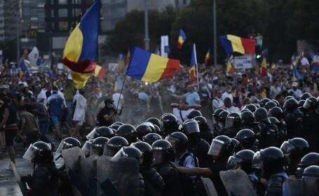 Jandarmeria Română a decis, la 3 zile după proteste, să cumpere măşti de gaze