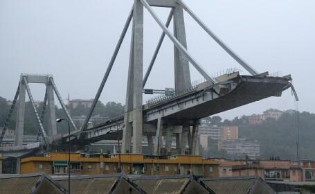 Genova, viaduct prabusit - 10