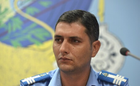 Colonel Ionut Sindile, director general adjunct Directiei Generale de Jandarmi a Municipiului Bucuresti,