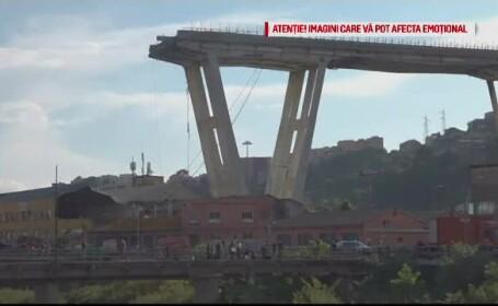 Cine sunt cei doi români implicați în tragedia din Italia. Un fulger ar fi lovit podul înainte de a se prăbuși
