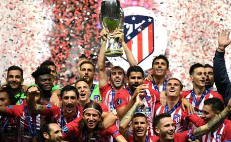 Atletico Madrid a câştigat Supercupa Europei, 4-2 cu Real Madrid după prelungiri