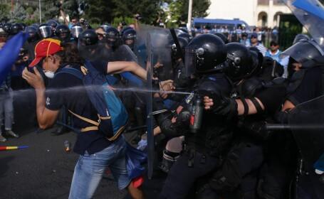 violente Piata Victoriei