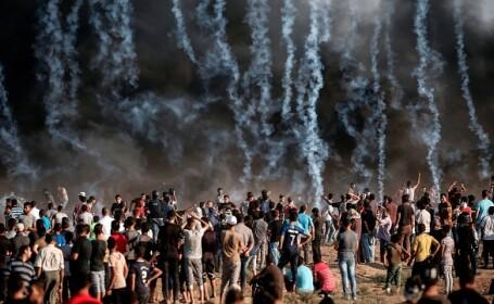gaza, palestinieni impuscati,