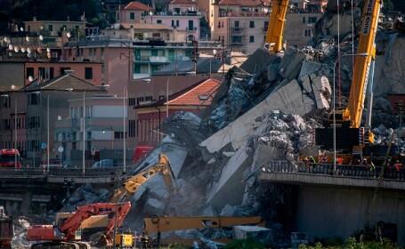 Societatea care administrează podul prăbușit la Genova alocă jumătate de miliard de euro pentru reparații