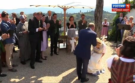 Vladimir Putin, Karin Kneissl, nunta, austria,
