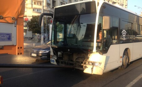 accident autobuz RATB