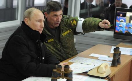 Exerciții de război masive în Rusia. Ordinul dat de Vladimir Putin