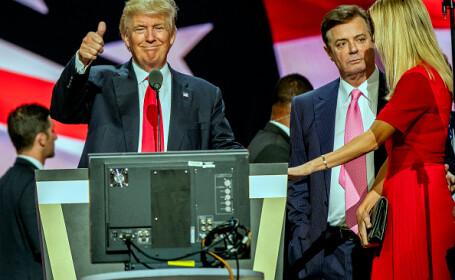 Paul Manafort, Donald Trump