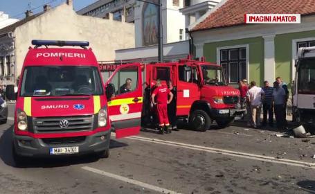 Bărbatul implicat în accidentul din Cluj este în stare gravă şi are nevoie urgent de sânge