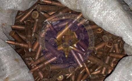 Zeci de mii de cartuşe şi grenade, descoperite de Serviciul moldovenesc de Informații