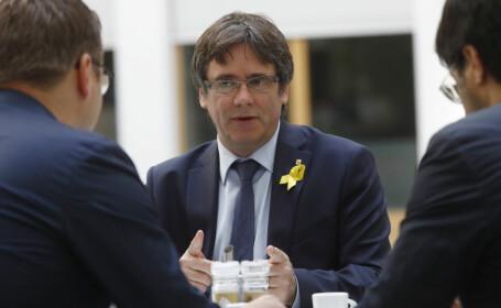 Carles Puigdemont va candida la alegerile europarlamentare