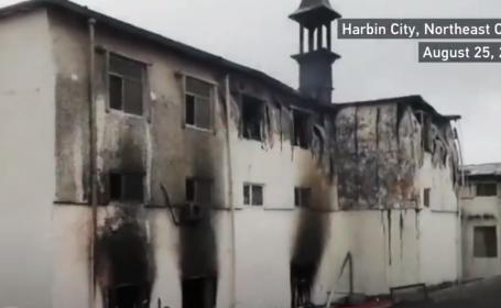 Incendiu de proporții, într-un hotel din China. Sunt cel puțin 18 morți