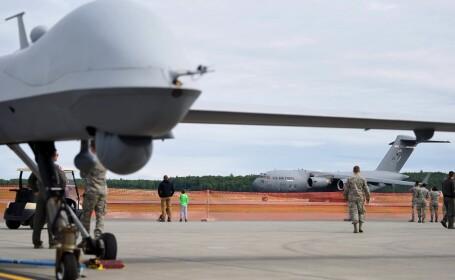 Cele mai noi drone militare americane ar putea fi trimise în România, pentru a-i monitoriza pe ruşi