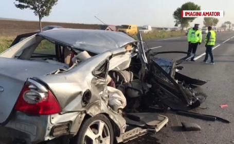O femeie a murit în urma unui accident, pe DN85. Ce s-a descoperit despre unul dintre șoferi