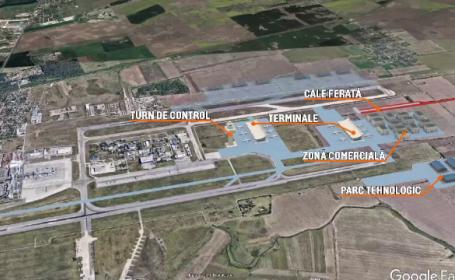 Un miliard de euro pentru noul terminal de pe aeroportul Otopeni. Când ar putea fi gata lucrările promise de Guvern