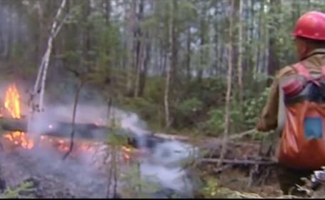 Catastrofă ecologică în Siberia. Vladimir Putin a ordonat armatei să intervină