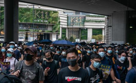 Protestatarii din Hong Kong, din nou în stradă în ciuda avertismentelor chineze