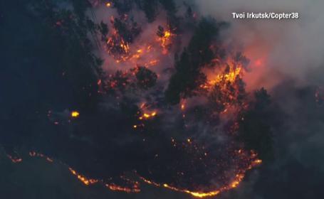 Situație critică în Siberia. Incendiile mistuie de câteva zile pădurile