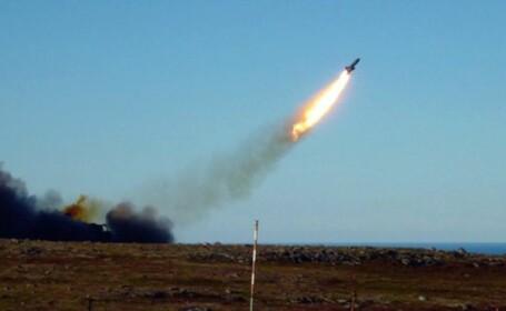 """Explozie cu 2 morți la o bază rusească de testare a rachetelor. """"Nu este contaminare radioactivă"""""""