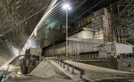 """Ce au observat experții la """"sarcofagul"""" inițial de la Cernobîl. FOTO"""