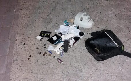 Urmărire ca-n filme în Constanța. Bărbat mascat și înarmat, prins după ce a fost împușcat