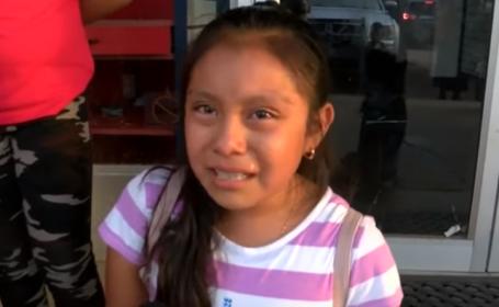 Drama copiilor de migranți din SUA. O fetiță imploră autoritățile să-i elibereze părinții