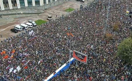 Proteste în Rusia