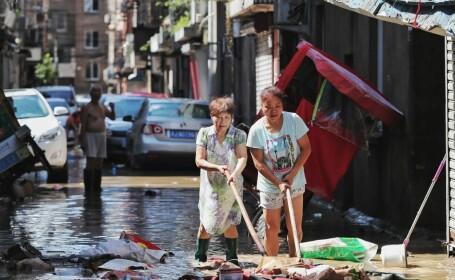 China, afectată în continuare de taifunul Lekima. Bilanțul victimelor