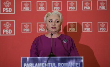 Dăncilă, despre o eventuală retragere a candidaturii la prezidențiale. Discuțiile din CEx