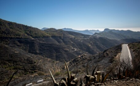 Atenţionare de călătorie a MAE pentru români. Incendiu de vegetaţie în Gran Canaria