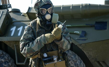 Operatiune de decontaminare nucleara in Rusia