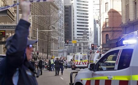 atac armat in Sydney