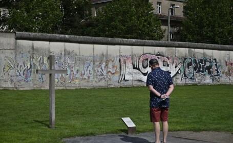 Germanii au comemorat 58 de ani de la ridicarea Zidului Berlinului