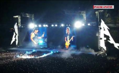 Concert Metallica la Bucuresti