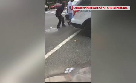 Bărbatul care a rănit şase poliţişti într-un schimb de focuri în SUA a fost reţinut